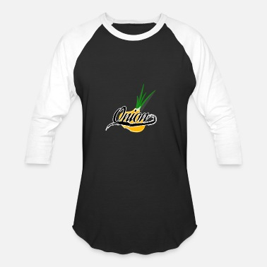 The Onion Onion - Baseball T-Shirt