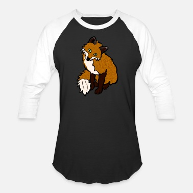 Fox Kids Fox - Baseball T-Shirt