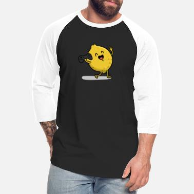 Lemon Gamer Lemon - Unisex Baseball T-Shirt