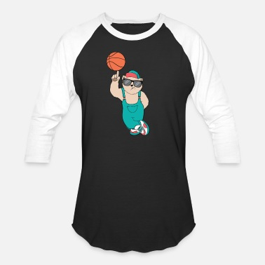 Bears Basketball basketball bear - Baseball T-Shirt