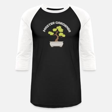 ae9470cb Japanese Gardening Master Gardener Bonsai Garden Tree Japanese Art - Unisex  Baseball T-Shirt