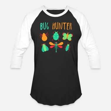 Insect Bug Hunter Animal Insect Lover - Unisex Baseball T-Shirt