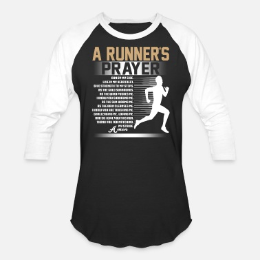 Runners Prayer A Runner's Prayer T Shirt, Running T Shirt - Baseball T-Shirt