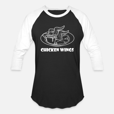 Chicken Wing Chicken Wings - Baseball T-Shirt