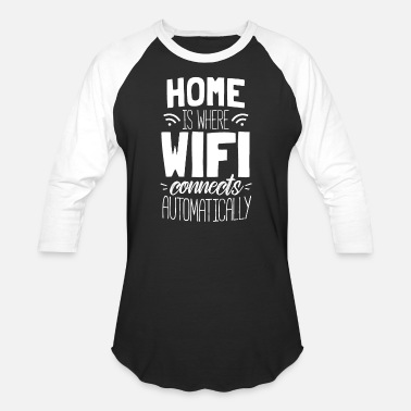 Dsl WiFi WIFI Internet Gift Connection DSL - Baseball T-Shirt