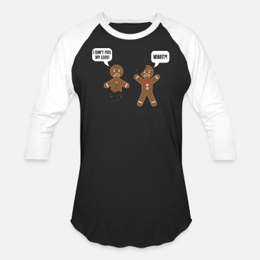 Gingerbread Man Gingerbread man cookie pastry gift - Baseball T-Shirt