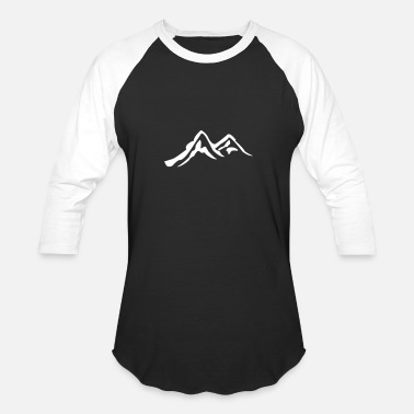 Alps Alps - Unisex Baseball T-Shirt