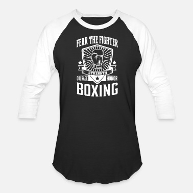 Box Art Reggae Boxing - Boxing: Fear the fighter - Baseball T-Shirt
