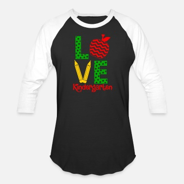 Kindergarten Kindergarten teacher - love kindergarten teacher - Unisex Baseball T-Shirt