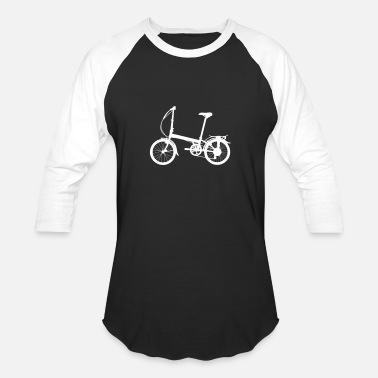 Tall Bicycle Tall Bicycle - Unisex Baseball T-Shirt