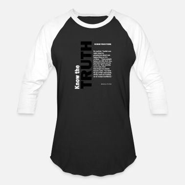 Tradition Human traditions - Unisex Baseball T-Shirt