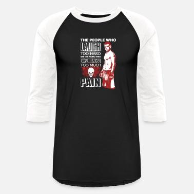 49c7f818c43 Nick Diaz - Who experienced too much pain - Unisex Baseball T-Shirt
