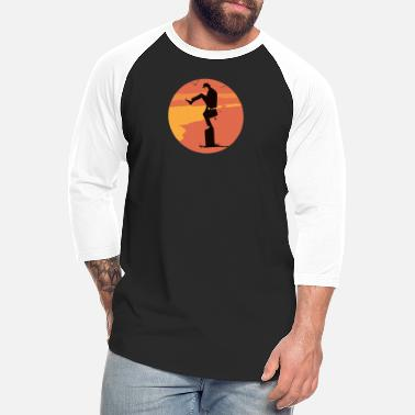Silly Silly Karate - Unisex Baseball T-Shirt