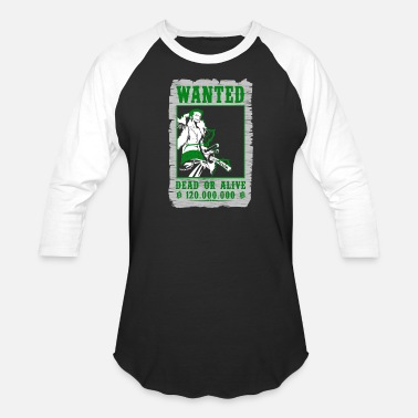 Zoro One Piece Wanted Roronoa Zoro - One piece fan - Baseball T-Shirt