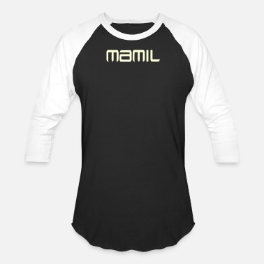 Middle Ages MAMIL Middle Aged Men - Unisex Baseball T-Shirt