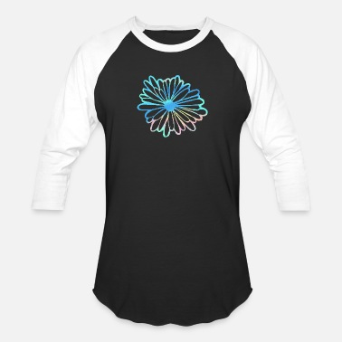 Uplifting Flower Nature Design Women and Kids exclusive - Unisex Baseball T-Shirt