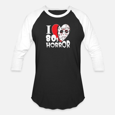 Horror Movie Zombie Horror - i love 80s horror movies hq - Baseball T-Shirt