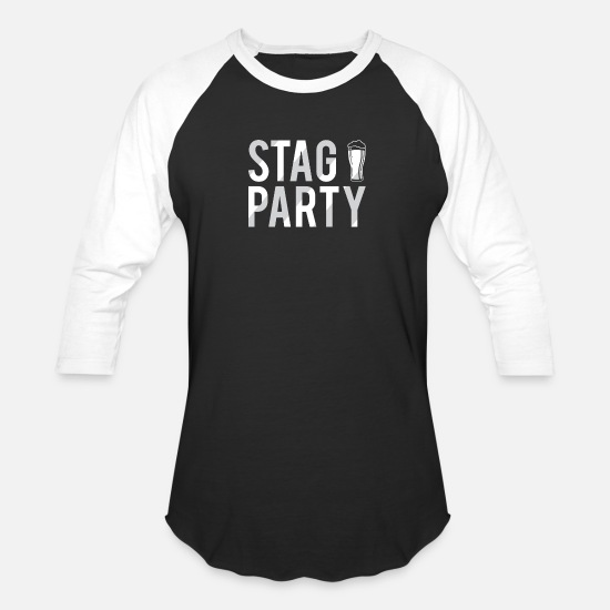 Stag Party Funny Beer Glass Groom Bachelor Party Unisex