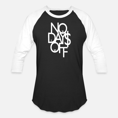 Adult Novelty Adult No Days Off Gym Novelty - Baseball T-Shirt