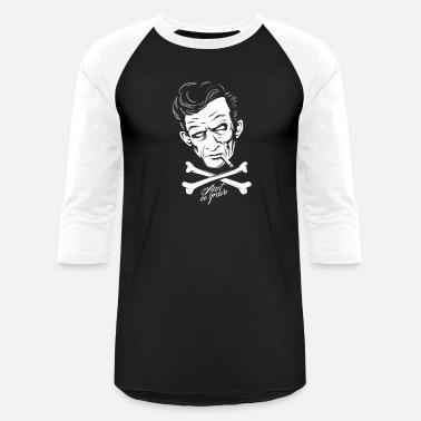 d2ba9469 Grave Jokes Ain t No Grave - Unisex Baseball T-Shirt