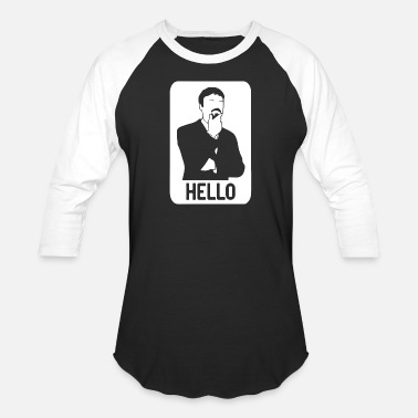 Ashens Funny Ashens HELLO - Baseball T-Shirt