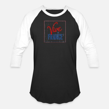Vive La France Vive La France - Unisex Baseball T-Shirt