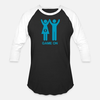 Maternity Couples Maternity Game On Couple - Baseball T-Shirt