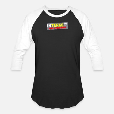 BEST SELLERS AC947 Inter'act Video Games - Unisex Baseball T-Shirt
