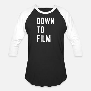 Animated Film Down to Film - Baseball T-Shirt