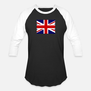 United Flag of United Kingdom (gb) - Unisex Baseball T-Shirt