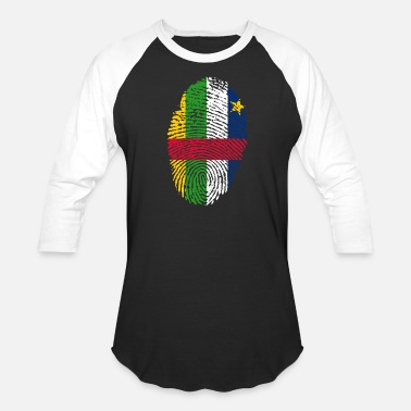 Central Europe central african republic - Unisex Baseball T-Shirt