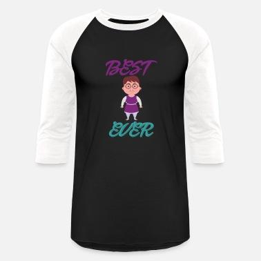 5218103c Best Cartoon Best Mom Ever Cartoon - Unisex Baseball T-Shirt