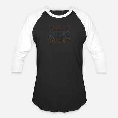Candy Candy Candy Candy - Unisex Baseball T-Shirt