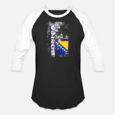 Bosnia - Unisex Baseball T-Shirt