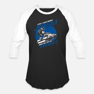 Watercraft Jet Ski Personal Watercraft Water Sports Boat Gift - Unisex Baseball T-Shirt