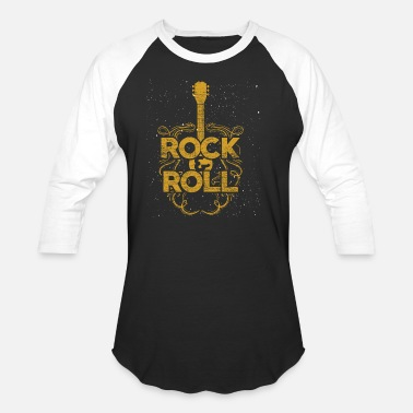 Rock And Roll Rock And Roll - Baseball T-Shirt