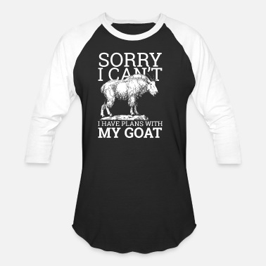 Goatee Goat Farm Animal Goats Goatee Farmer Horns Gift - Unisex Baseball T-Shirt
