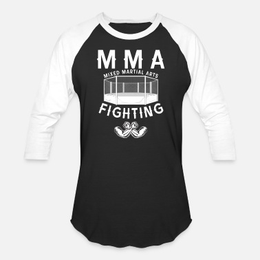 Fight Mixed Martial Arts MMA Fighter Mixed Martial Arts Fighting Athlete - Baseball T-Shirt