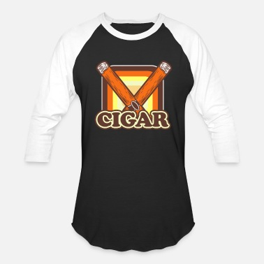 No Cigar Cigar - Baseball T-Shirt