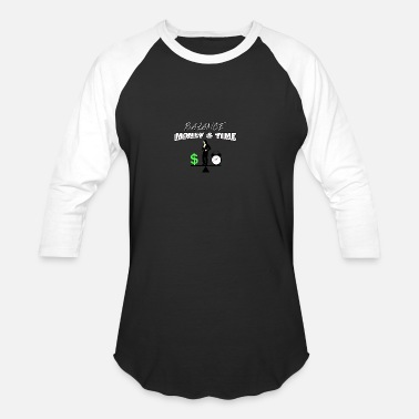Wealth Wealth Wealth Wealth gift idea - Unisex Baseball T-Shirt