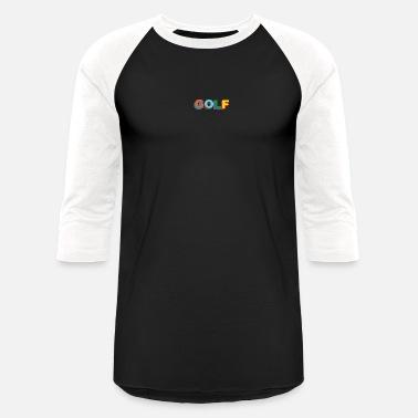 fb40dac92e08fc Multi color 3D Golf Wang - Unisex Baseball T-Shirt