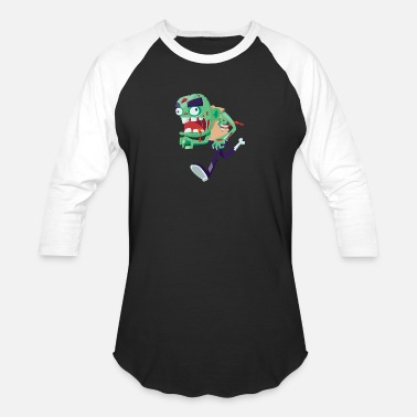 Monster Halloween Monster - Baseball T-Shirt
