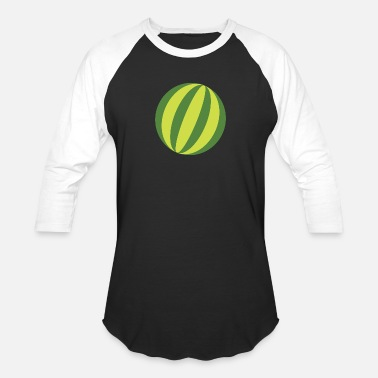 Pineapple And Watermelon watermelon - Baseball T-Shirt