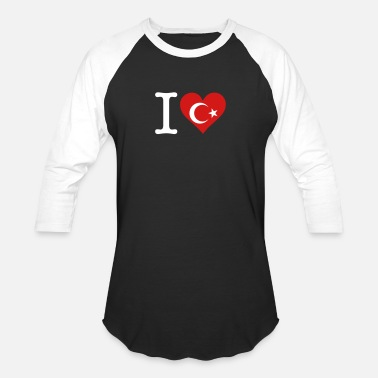 I Love Turkey I Love Turkey - Baseball T-Shirt