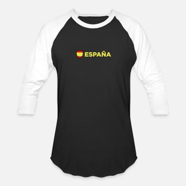 Spain National Flag Of Spain - Unisex Baseball T-Shirt