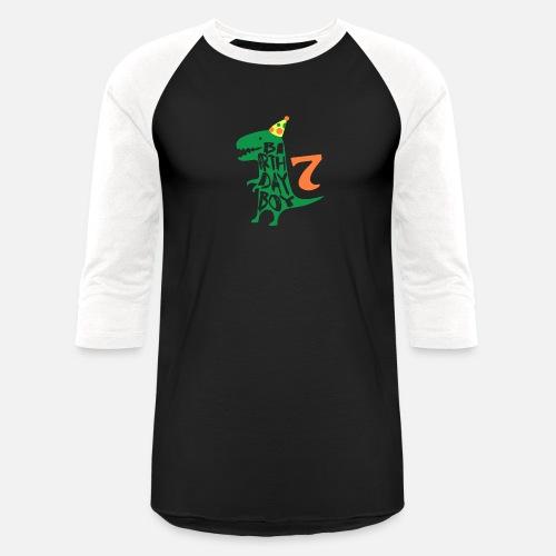 Unisex Baseball T ShirtBirthday Boy 7 Years Old