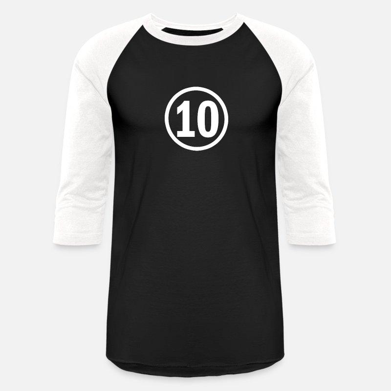 10 Years Old Birthday Unisex Baseball T Shirt