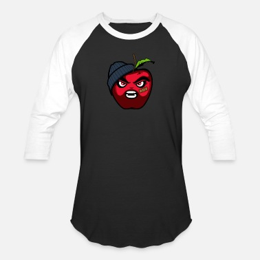 Ctf Angry apples - Baseball T-Shirt