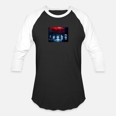 Stranger-things STRANGER THINGS - STRANGER THAN EVER - Baseball T-Shirt
