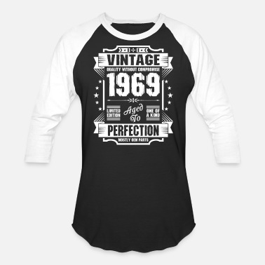 Vintage Vintage 1969 Perfection - Unisex Baseball T-Shirt